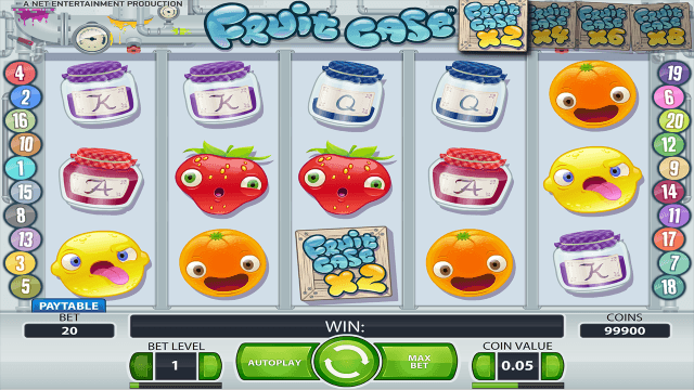 Характеристики слота Fruit Case 9