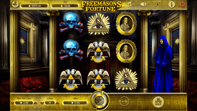 Характеристики слота Freemasons Fortune 3