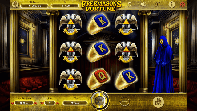 Характеристики слота Freemasons Fortune 2