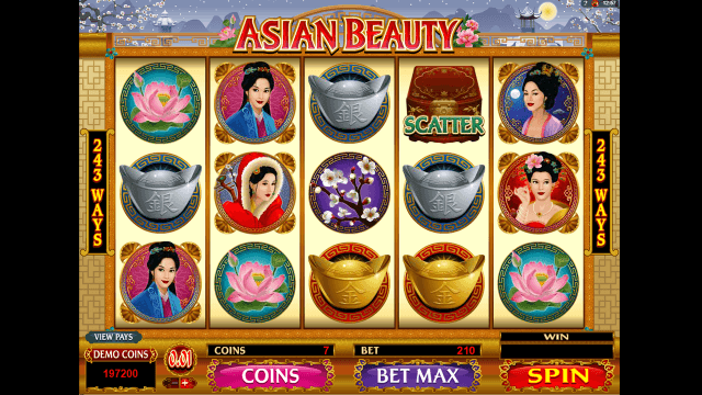 Характеристики слота Asian Beauty 3